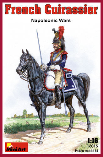 FRENCH CUIRASSIER NAPOLEONIC WARS 1/16