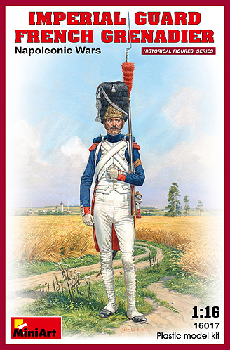 IMPERIAL GUARD FRENCH GRENADIER NAPOLEONIC WARS 1/16