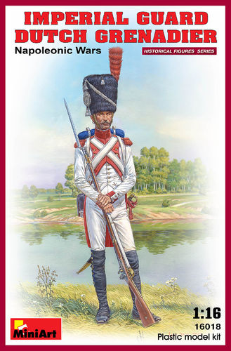 IMPERIAL GUARD DUTCH GRENADIER NAPOLEONIC WARS 1/16