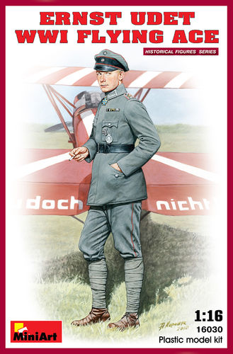 Ernst Udet WW1 Flying Ace 1/16