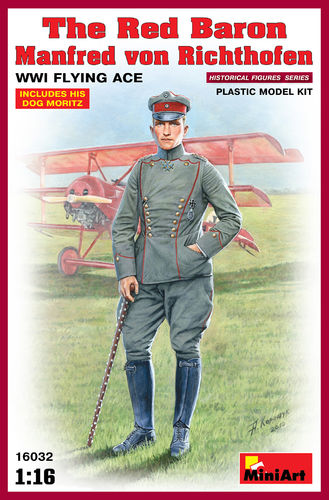 Red Baron,Manfred v.Richthofen WW1Flying  Ace 1/16