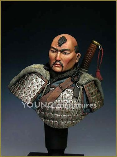 MONGOL WARRIOR  14th Century 1/10