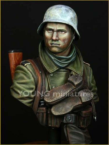 German Infantry  Russian Front WWII 1/10