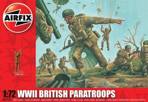 BRITISH PARATROOPS S1 1/72