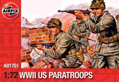 WWII US PARATROOPS 1/72