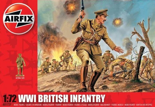 WW.1 British Infantry Set 1  1/72