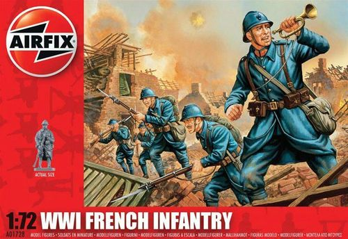 WW.1 FRENCH INF. S1 1/72