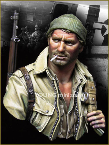 US Paratrooper WWII 17Th Airborne Division 1/10
