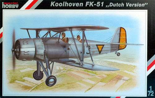 Koolhoven FK-51 ''Dutch Version'' 1/72