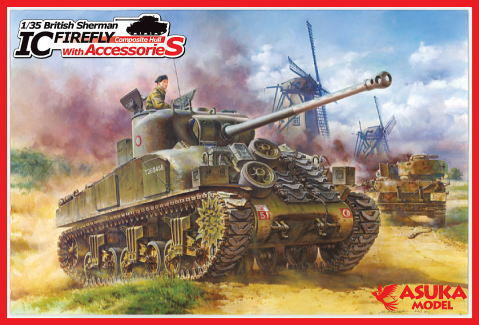 BRITISH SHERMAN Ic FIREFLY    1/35