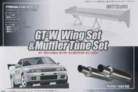 GTW WING MUFFLER SET 1/24