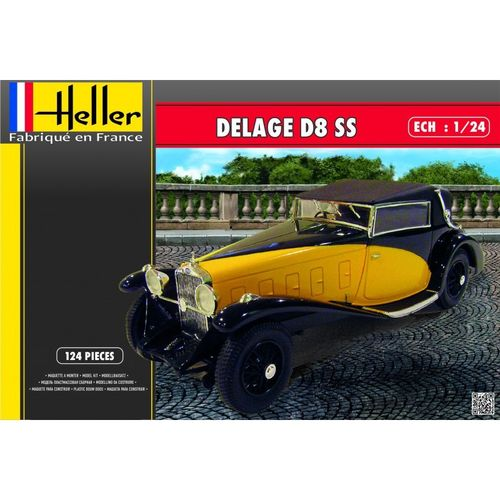 Delage D8 SS   1/24
