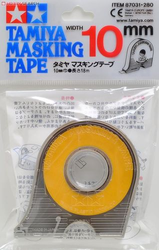 Masking Tape 10 mm in dispenser Tamiya