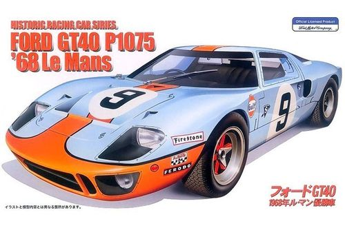 FORD GT40 LeMans '68