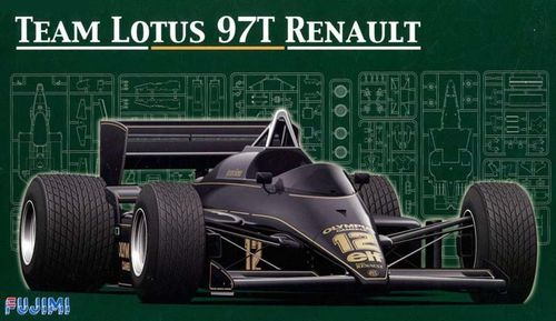 Team Lotus 97T Renault 1/20