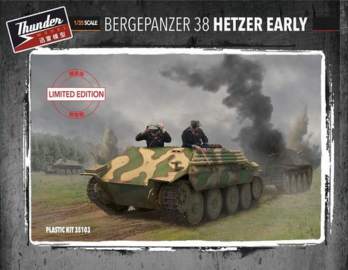 Hetzer (early) Bergepanzer Limited edition 1/35