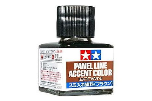 Tamiya Panelline Accent Color (Brown)