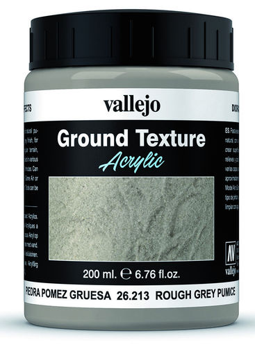 Rough Grey Pumice (200ml)