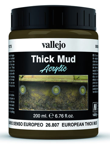 European Thick Mud (200ml)
