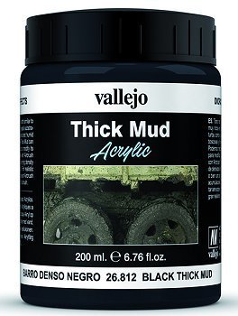 Black Thick Mud (200ml)
