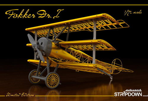 Fokker Dr.I Stripdown Limited Edition 1/72