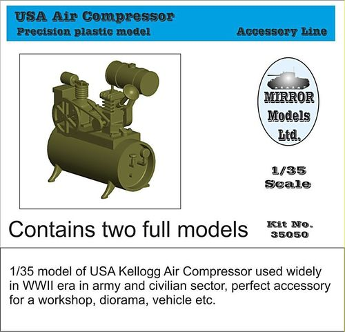 USA Air Compressor  1/35