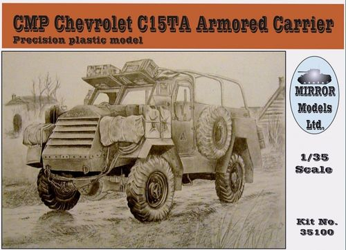 CMP C15TA Armored Carrier 1/35