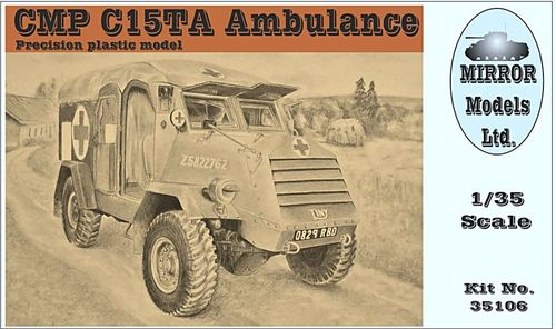 CMP C15TA Ambulance 1/35