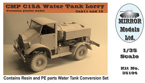 CMP C15A Chevrolet Water Tank Lorry 1/35