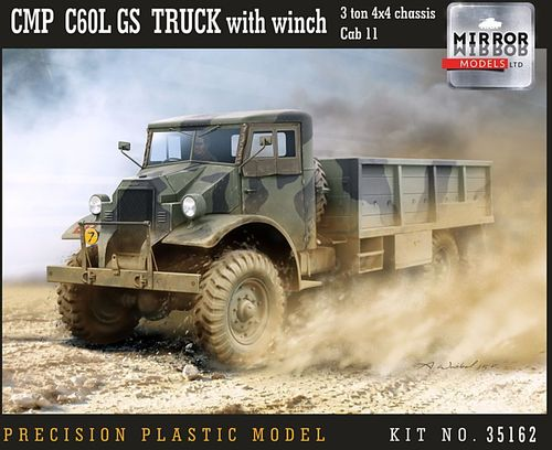 CMP Chevrolet C60L GS truck + Winch 1/35