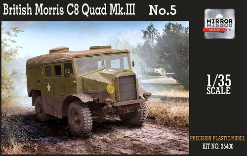 British Morris C8 Quad Mk.III No:5  1/35