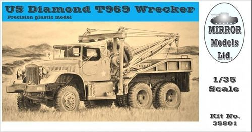 US Diamond T969 Wrecker 1/35