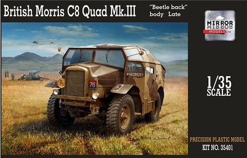 British Morris C8 Quad Mk.III Late 1/35