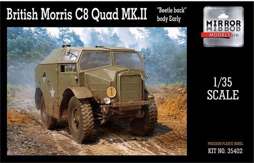 British Morris C8 Quad Mk.II Early 1/35