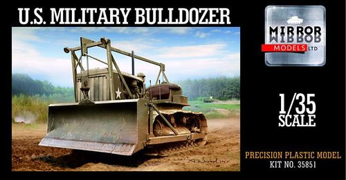 US Military Bulldozer 1/35