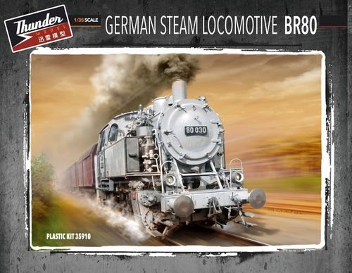 German Steam Locomotive BR80 1/35