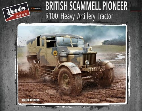 Scammell  Pioneer R100 Heavy Artillery Tractor 1/35