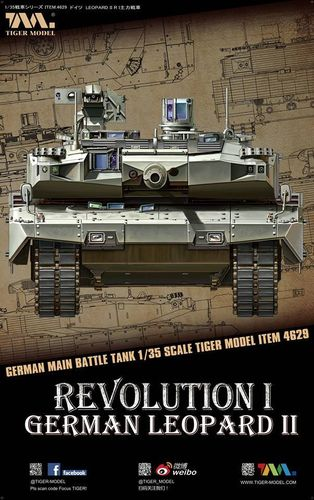 German Revolution I German Leopard II 1/35
