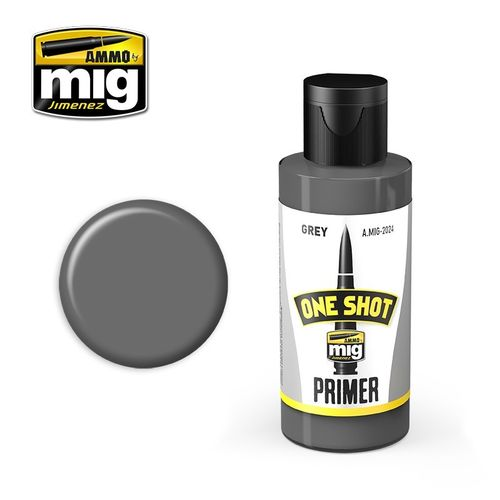 MIG One Shot Grey Primer (60ml)