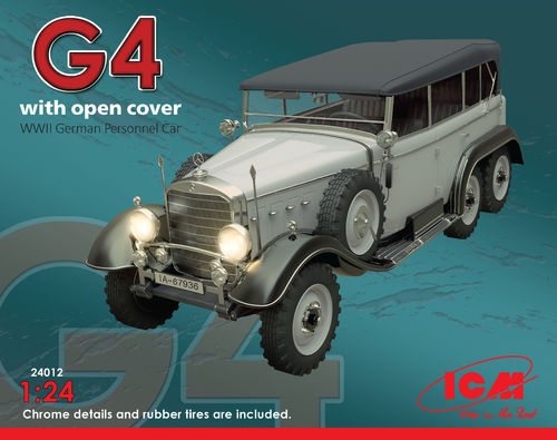 Typ G4 Soft Top WWII 1/24