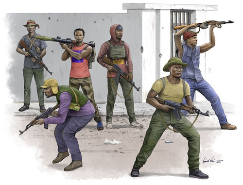 African Freedom Fighters 1/35