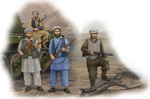 Afghan Rebels 1/35