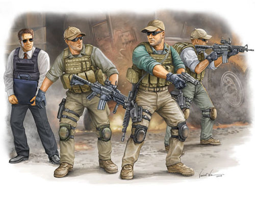 PMC in Iraq - VIP Protection 1/35