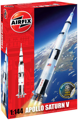 Apollo Saturn V  50th Anniversary of 1st Manned Moon Landing  1/144
