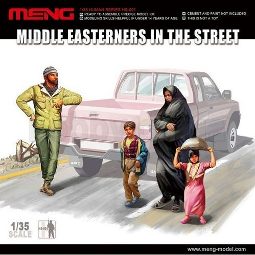 Middle Eastern Civilians 1/35
