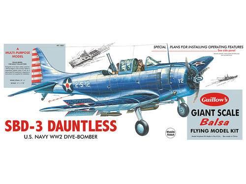 Douglas SBD-3 Dauntless 1/16