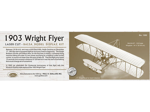 Historic 1903 Wright Flyer 1/20