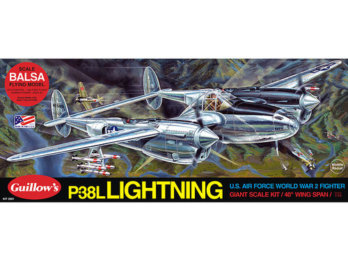 Lockheed P38 Lightning 1/16
