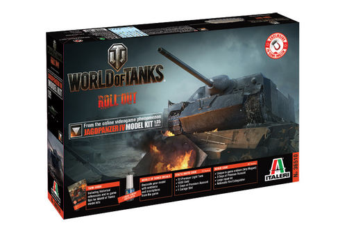 World of Tanks - JAGDPANZER IV  1/35