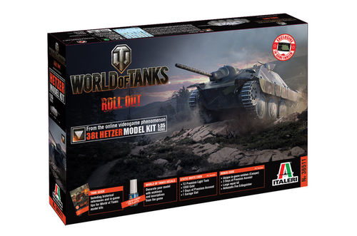 World of Tanks - 38t HETZER 1/35